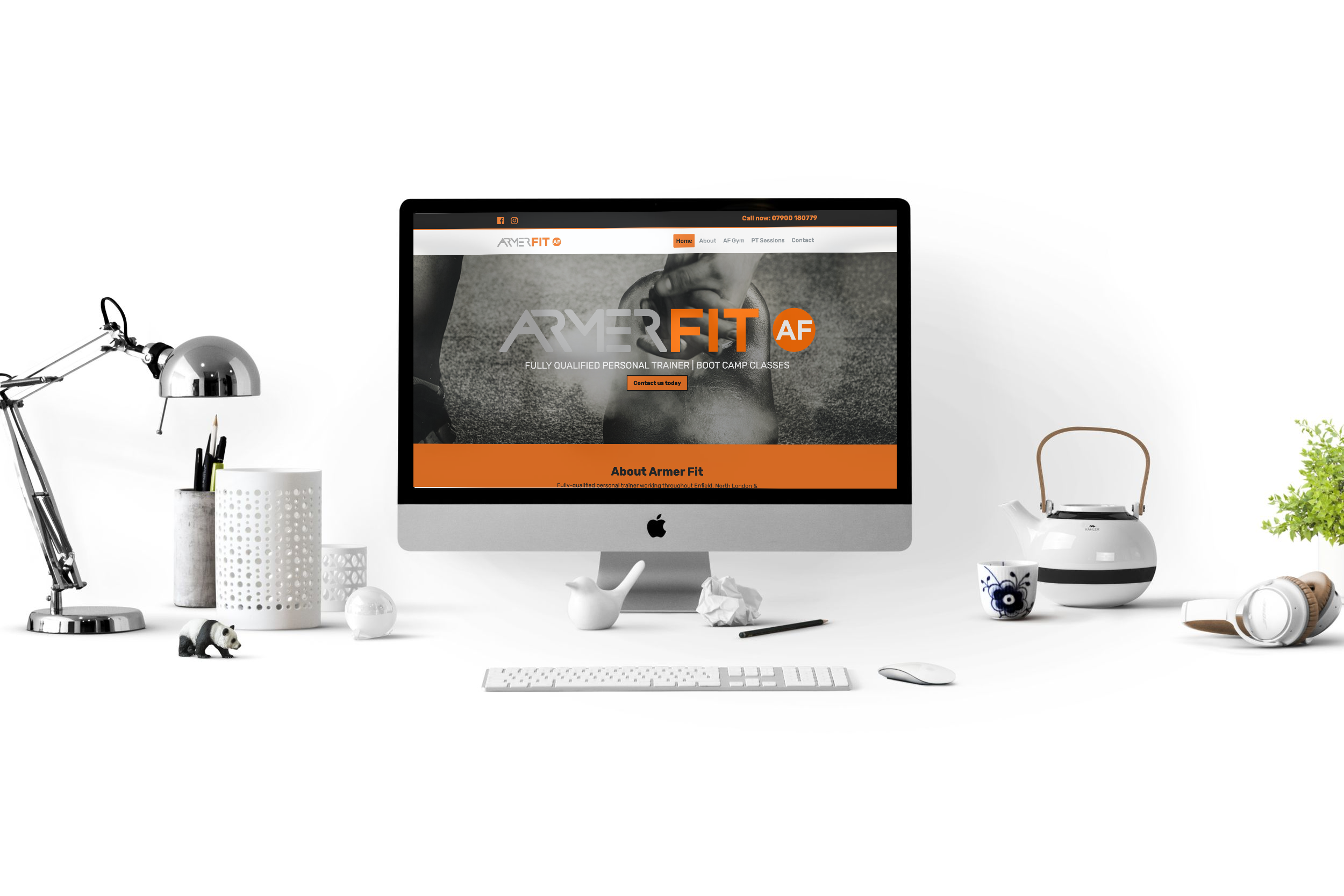 Armer Fit Personal Trainer Web Design